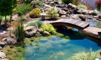 Living a perfect moment in an oriental secret garden