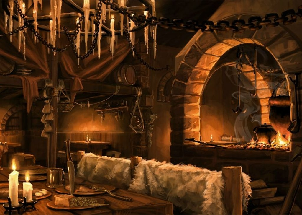 Relaxing Fantasy Tavern Audio Atmosphere